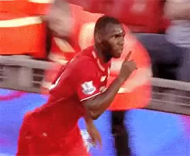 Watch Benteke celebrates his first goal for Liverpool at Anfield ( GIF on Gfycat. Discover more *g, LOOK AT PHIL, MY PRECIOUS CHILD, benteke, christian benteke, lfc, lfcedit, liverpool boys, liverpool fc, mine GIFs on Gfycat
