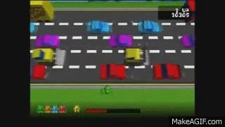 Watch and share Lets Play Frogger Part 3: GAME OVER! GIFs on Gfycat