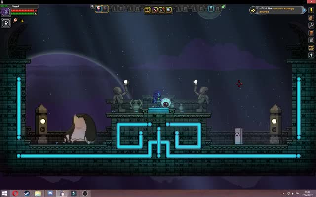 Starbound - Custom Weapon - Pig Launcher GIF by