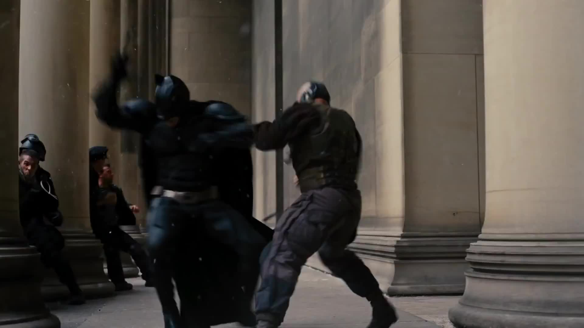 bane, bane vs batman, batman, batman vs bane, batman vs bane fight scene, batman vs bane final fight, batman vs bane full fight, batman vs bane second fight, dark knight rises, fight, fight scene, fighting, punch, the dark knight rises, the dark knight rises fight, The Dark Knight Rises (2012) - Batman vs. Bane (HD) GIFs