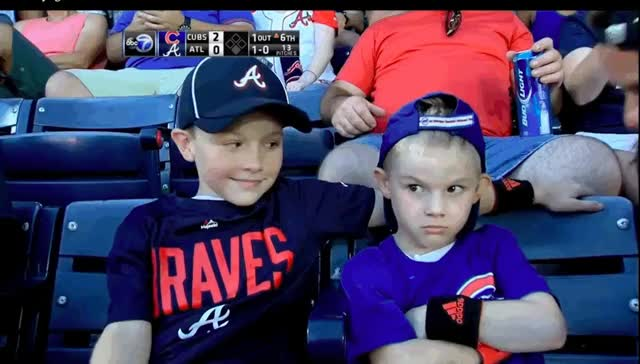 Watch and share Tomahawk Cubs Kid GIFs on Gfycat
