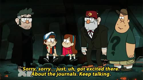 Watch and share Stanford Pines GIFs and Gravity Falls GIFs on Gfycat