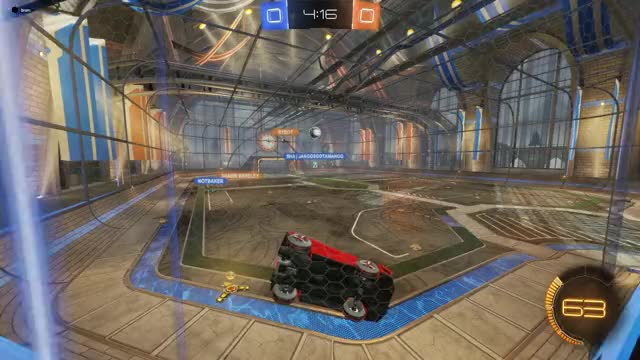 Watch The Pass GIF by WhiteBoy  (@whiteboy78) on Gfycat. Discover more Goal, Rocket League, RocketLeague GIFs on Gfycat
