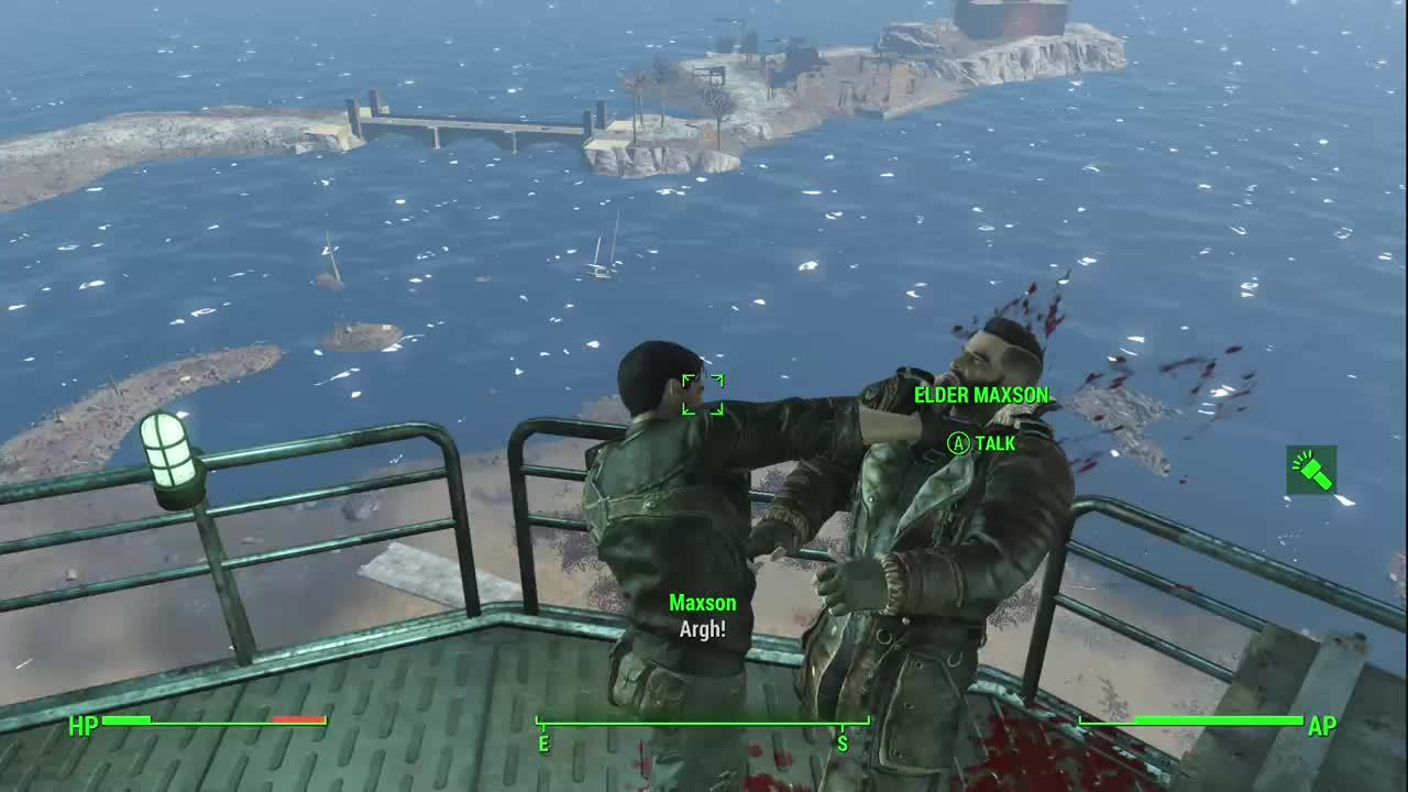 fo4, How to get rid of Elder Maxson GIFs