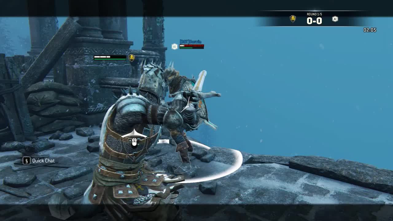 PSA- The new Warden execution ledges! - forhonor GIFs