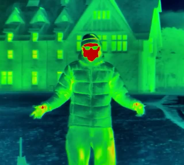 Watch and share Thermal Vision On A Cold Winter Night GIFs by bsurfn2day on Gfycat