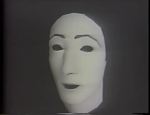 Watch Early CGI Facial Animation (1974) GIF on Gfycat. Discover more related GIFs on Gfycat