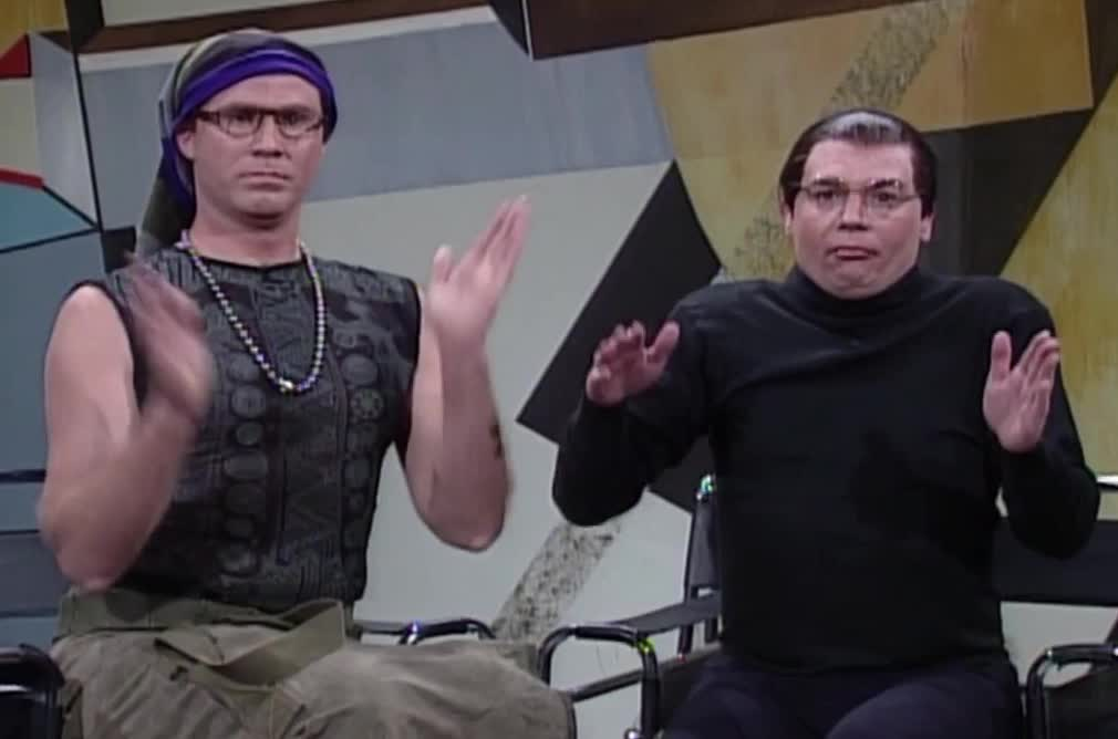 celebrate, funny, yay, Sprockets - Saturday Night Live GIFs