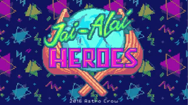 Watch Jai Alai Heroes (by Astro Crow) - Title Screen GIF on Gfycat. Discover more JaiAlaiHeroes, gamedevscreens GIFs on Gfycat