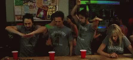 Watch and share IASIP Dancing GIFs on Gfycat