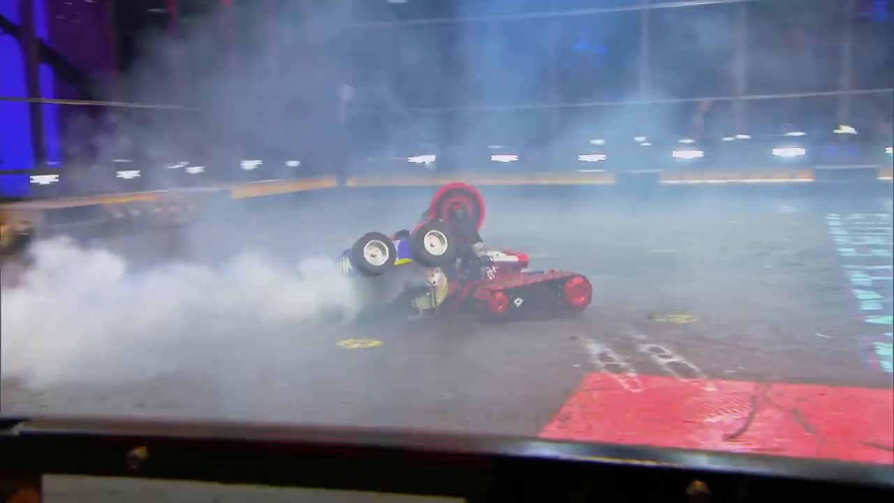 abc, battlebots, robots, television, trailer, tv, Witch Doctor vs. Red Devil - BattleBots GIFs