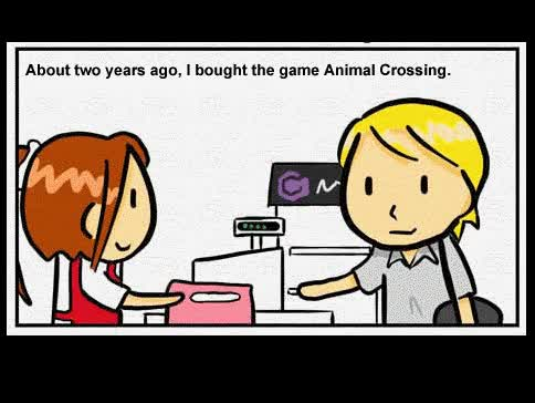 Watch and share Animal Crossing [ANIMATED GIFs on Gfycat
