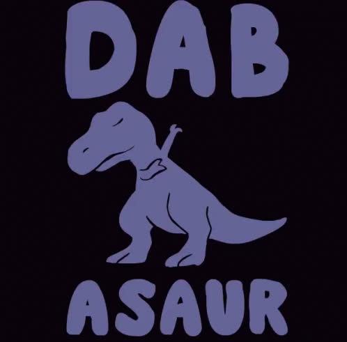 dab, t rex, tyrannosaurus rex, t-rex GIFs