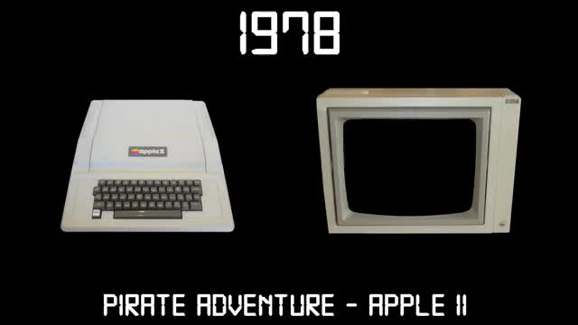 Watch Gaming Through The Ages Phase 2 - 1978 - Pirate Adventure - Apple II GIF on Gfycat. Discover more Game, Gameplay, Lets, Play, Playthrough, commentation, commentator, cool, difficult, exciting, fun, future, good, hard, lastest, let, review, test, upgrade, version GIFs on Gfycat