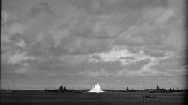 Watch Atomic Test - Ground Level - Operation Crossroads; Baker - Bikini Atoll - US (1946) GIF by @srirachachacha on Gfycat. Discover more bomb, nuclear, nucleargifs GIFs on Gfycat
