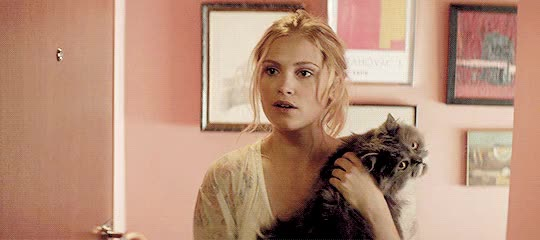 Watch and share Eliza Taylor GIFs and Cat GIFs on Gfycat