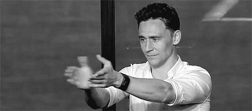 applause, clap, clapping, respect, slow clap, slowclap, tom hiddleston, Tom Hiddleston Clapping GIFs