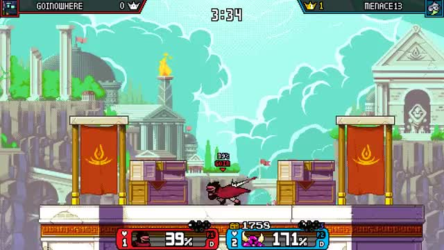 Watch and share Rivals Of Aether GIFs and Shovel Knight GIFs by Menace13 on Gfycat