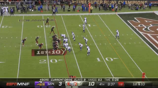Watch Niners Embarrass Vikes GIF on Gfycat. Discover more related GIFs on Gfycat