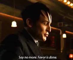 Watch and share This Won't End Well GIFs and Robin Lord Taylor GIFs on Gfycat