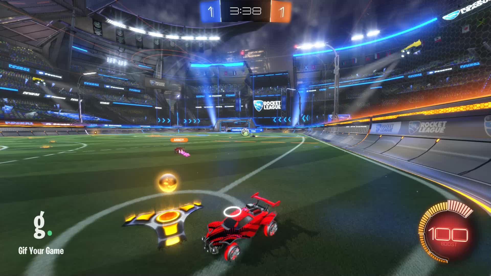 Gif Your Game, GifYourGame, Goal, Rocket League, RocketLeague, lilmoist., Goal 3: Annoy. GIFs