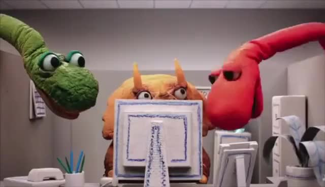 Watch Computer Problems GIF on Gfycat. Discover more Dinosaur Office GIFs on Gfycat
