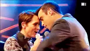 Watch Greatest Day GIF on Gfycat. Discover more !!!, ;))), first? you know what it is, i really wanna see tt5 with my own eyes, mark owen, my second favourite ship, robbie williams, take that, take that challenge, willowen GIFs on Gfycat