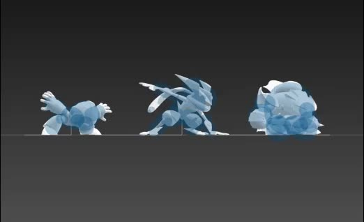 Watch and share Hurtbox Comparison GIFs by arildis on Gfycat