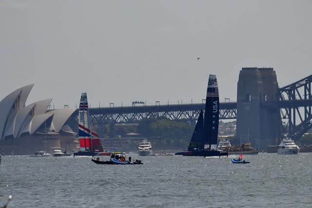 Watch and share Sydney Harbour GIFs and Sailgp GIFs by sionide on Gfycat