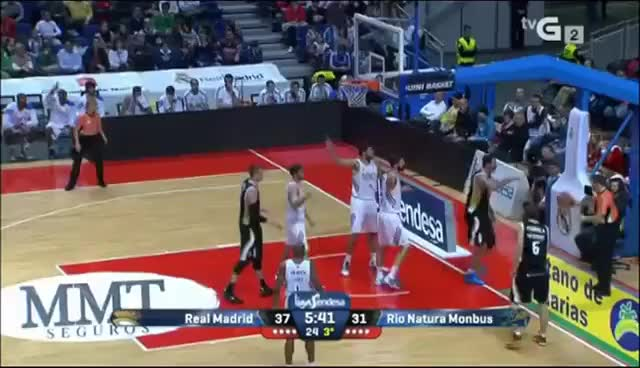 Watch and share Nikola Mirotic GIFs and Liga Endesa GIFs on Gfycat