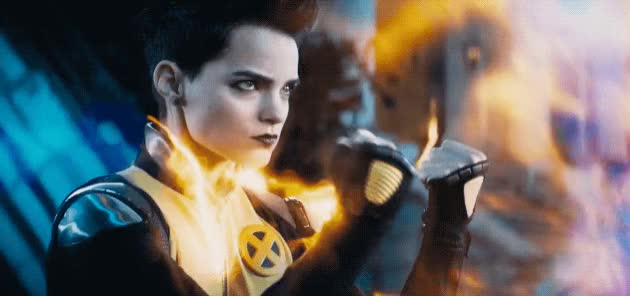 Watch and share Brianna Hildebrand GIFs and Deadpool GIFs by Reactions on Gfycat