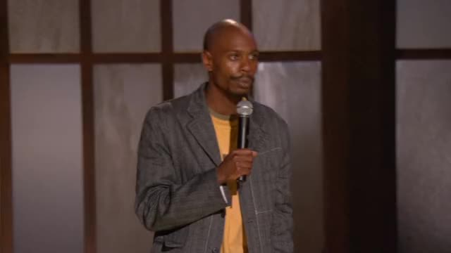 Watch this dave chappelle GIF by @infidill on Gfycat. Discover more dave chappelle, stand up comedy GIFs on Gfycat