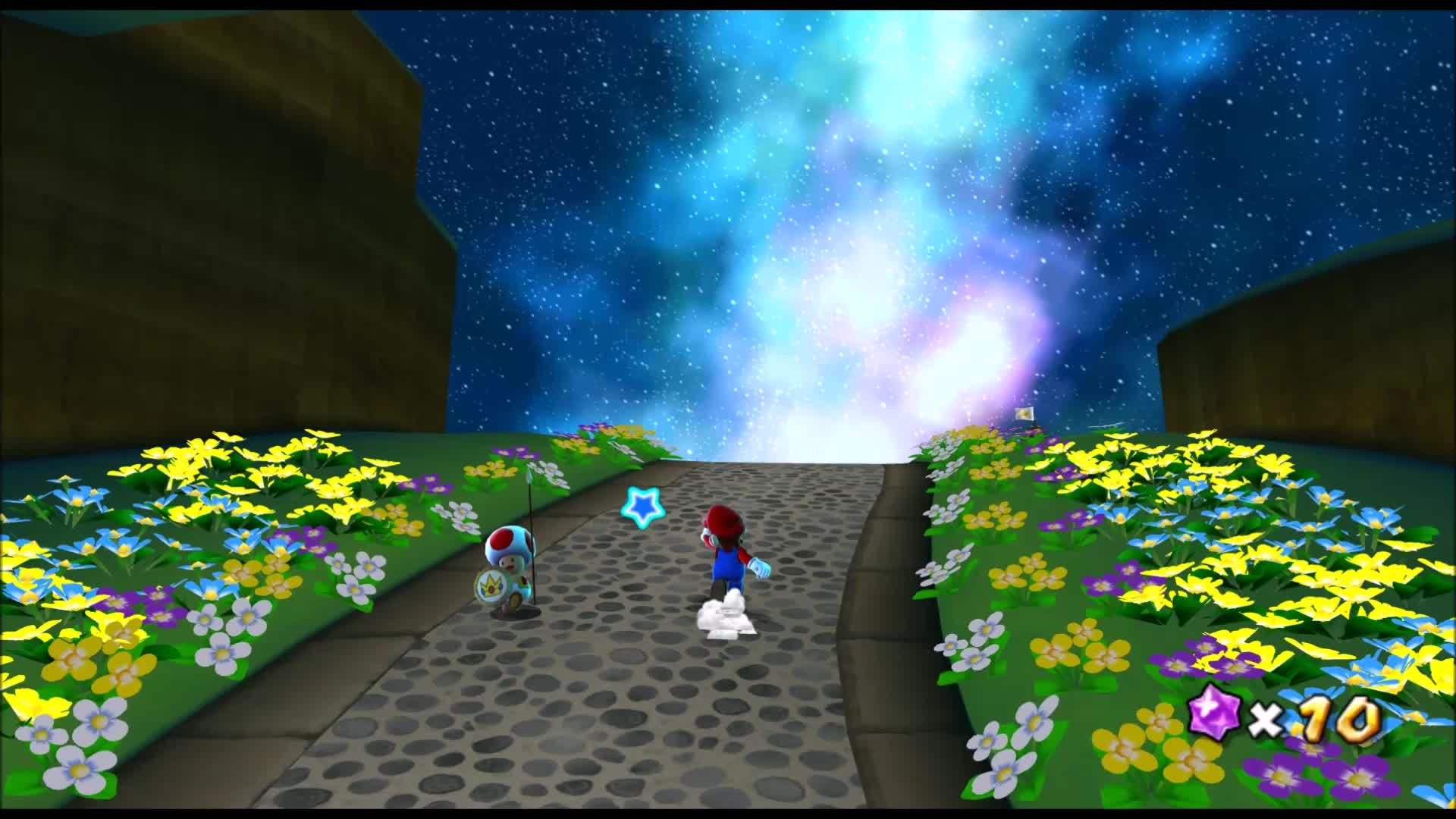 Super Mario Galaxy is absolutely stunning on Dolphin GIFs