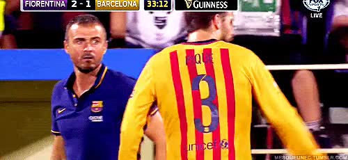 Watch and share Fc Barcelona GIFs and Gerard Pique GIFs on Gfycat