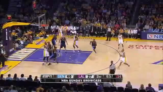 basketball, triangle, triangle offense, Lakers Triangle Offense Explained GIFs
