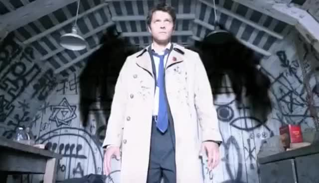 Watch and share Castiel Wings GIFs on Gfycat