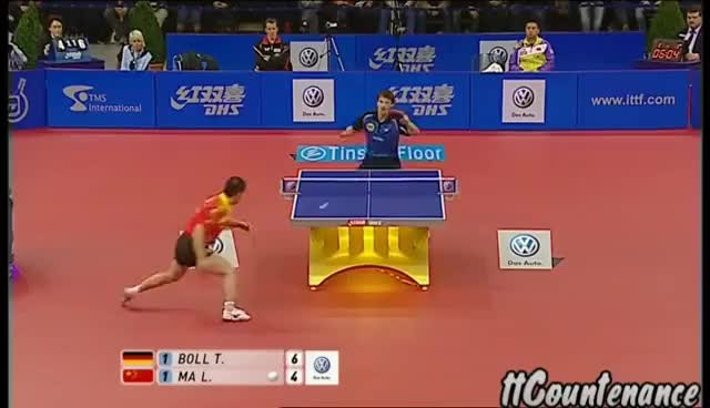 Watch and share Timo Boll GIFs on Gfycat