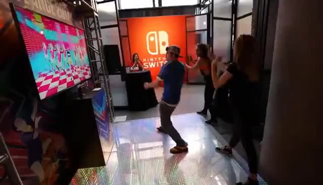 Watch and share 7 Minutes With My BIGGEST HEROES!!! Nintendo Switch Hands On! GIFs on Gfycat