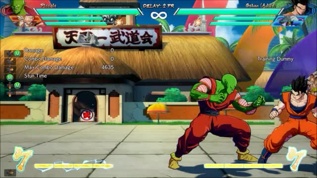 Watch DBFZ Piccolo - Corner 2M 5M meterless combo (4635 dmg) GIF by @amex_svk on Gfycat. Discover more related GIFs on Gfycat