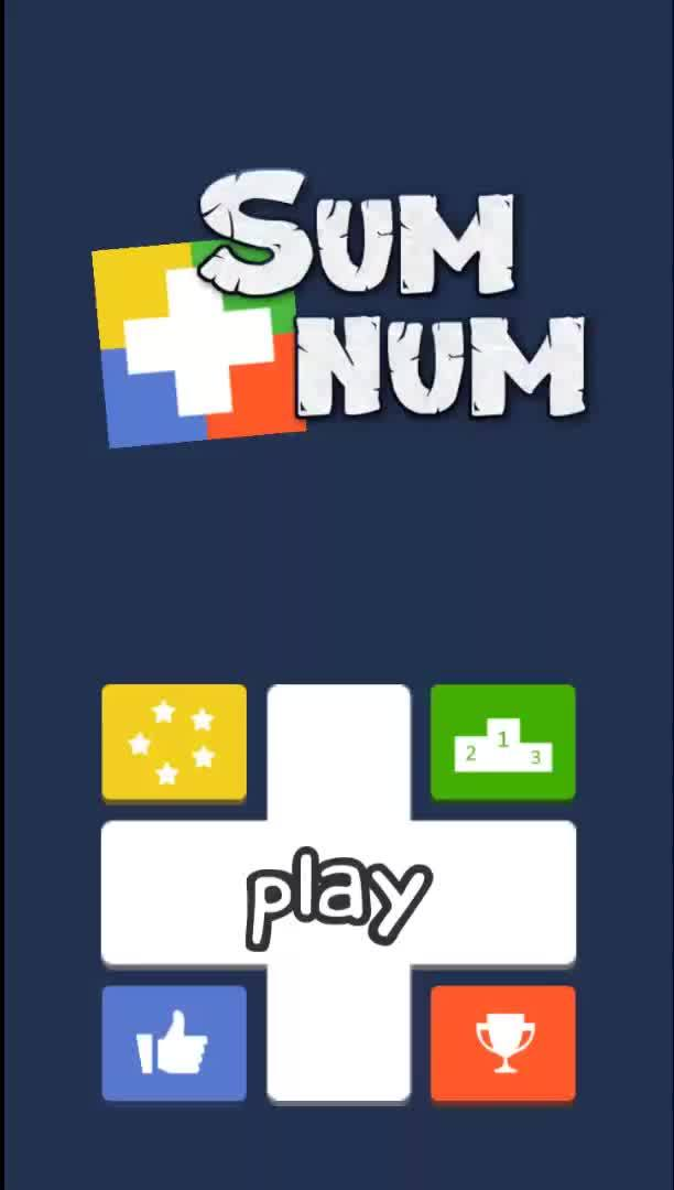 numbers, sum, sumnum, My first game SumNum (made in Unity2D) GIFs