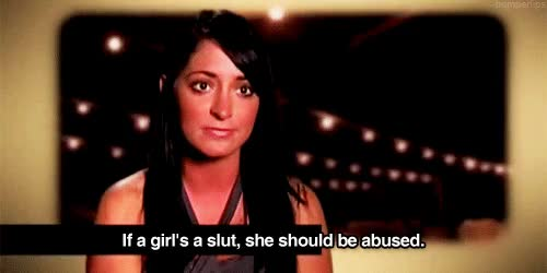 Watch and share Angelina Jersey Shore GIF GIFs on Gfycat