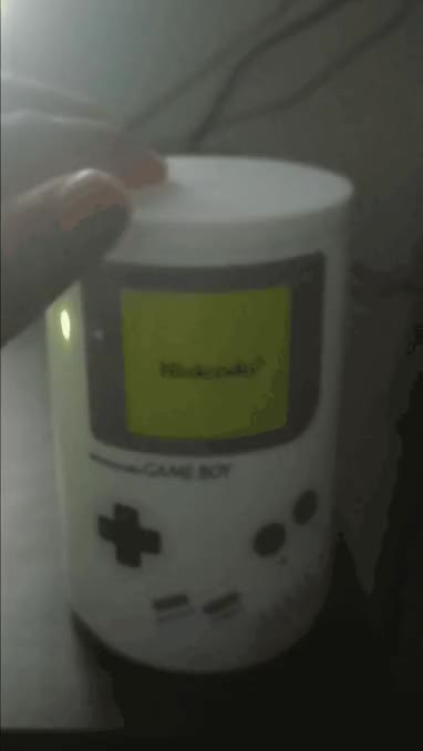 Watch and share Check Out My Nintendo Gameboy Lamp! GIFs on Gfycat