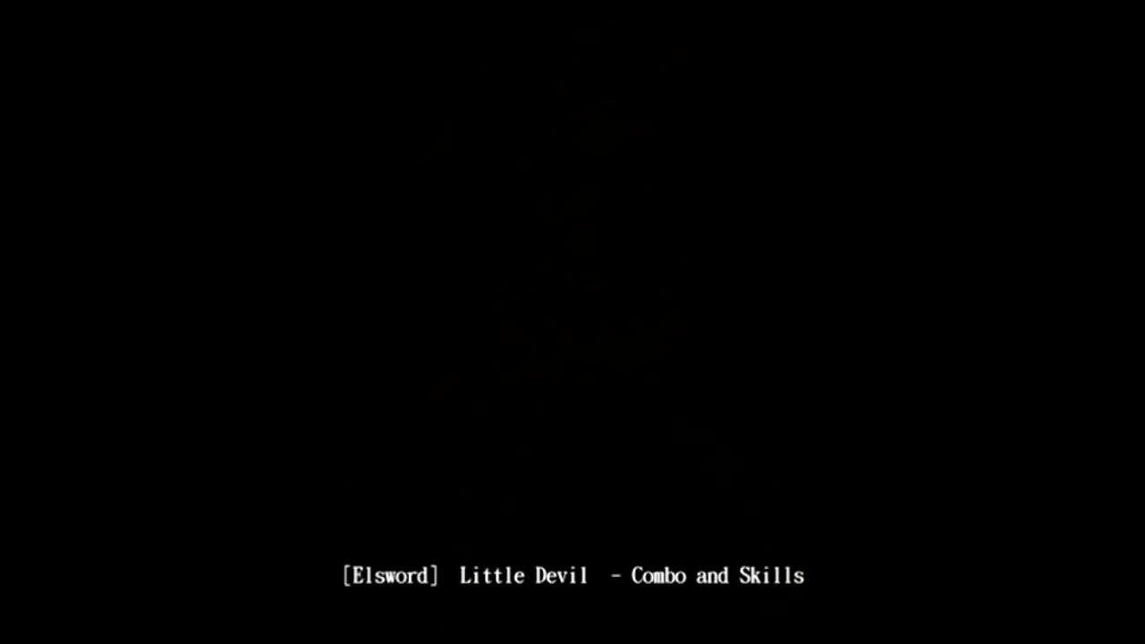 Elsword Little Devil Combo And Skills Reddit