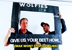 Watch teen wolf GIF on Gfycat. Discover more Linden Ashby, cast, dani, holland roden, max carver, u need to hear holland's howl its so cuteeeee GIFs on Gfycat
