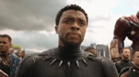 Watch and share Chadwick Boseman GIFs and Black Panther GIFs by Reactions on Gfycat