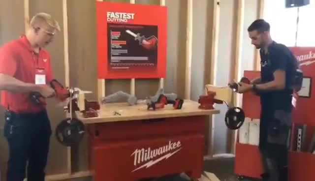 Watch Milwaukee new tool event GIF on Gfycat. Discover more related GIFs on Gfycat