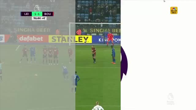 Watch and share Bournemouth Fc GIFs and Leicester City GIFs by tenk on Gfycat