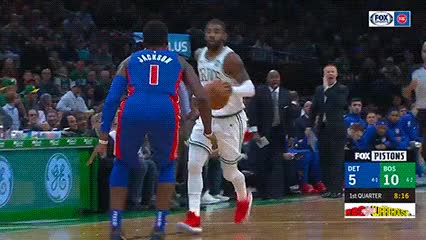 Watch and share Kyrie Irving — Boston Celtics GIFs by Off-Hand on Gfycat