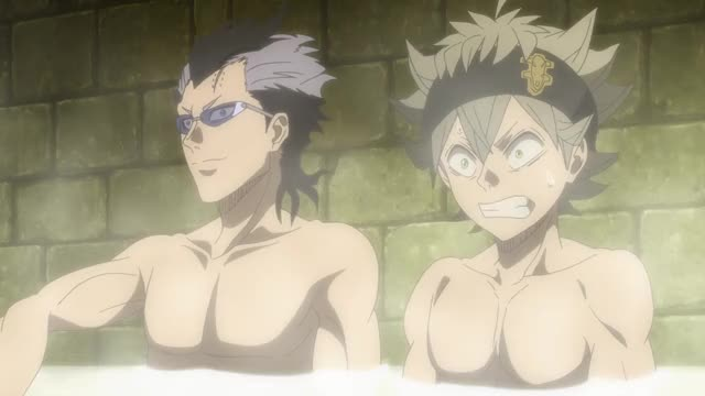 Watch and share Black Clover GIFs and Hot Tub GIFs by Funimation on Gfycat