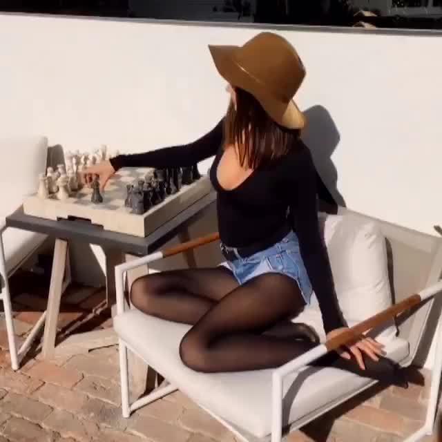 MirandaKerr, Miranda Kerr - Chess GIFs